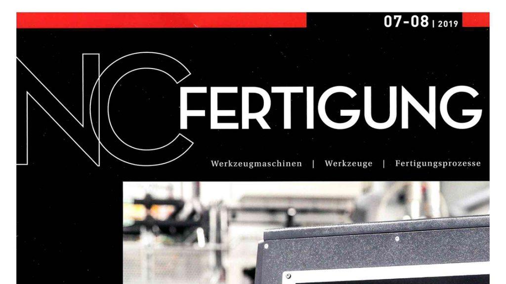 """Neuer Anwendungsbericht in der Fachzeitung """"NC-Fertigung"""